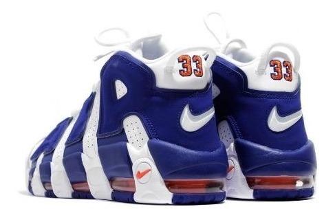 7569b2a1365 Nike Air More Uptempo Knicks On Feet-botinha Basquet Oficial