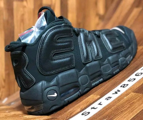 best sneakers e8918 05a4c Nike Air More Uptempo Supreme Black Pippen