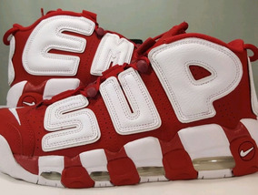 the best attitude 4ca1c 06b15 Nike Air More Uptempo Supreme Suptempo Red Pippen