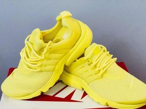 67d84990a Zapatillas Nike Air Presto Amarillas - Zapatillas Nike en Mercado ...