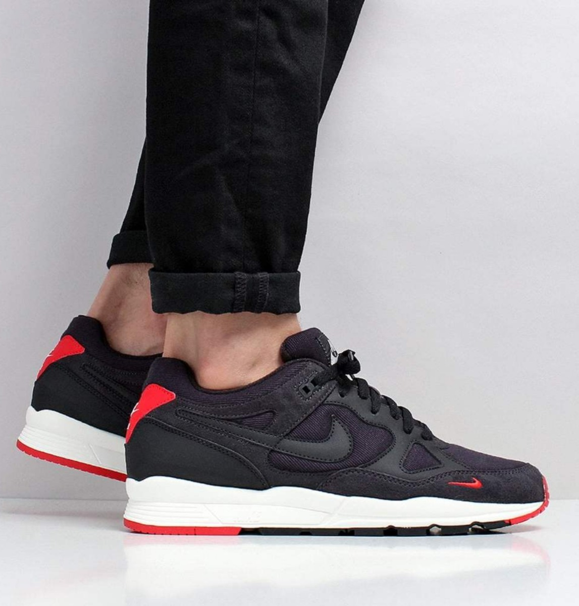 Nike University Se Airmax Air Span Red Oil Hombre Grey 2 WE9HI2D