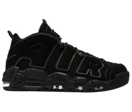premium selection 661c2 d7fc2 Nike Air Uptempo 96 Triple Black Pippen Jordan Rodman Shaq