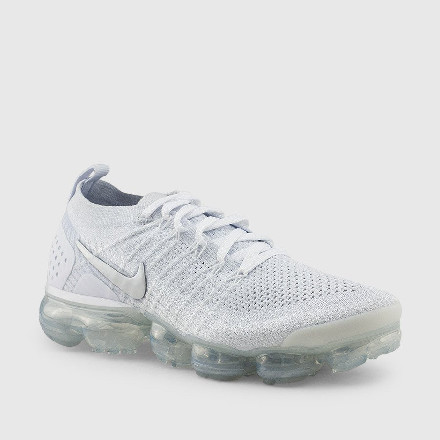 finest selection e6d41 cc736 Nike Air Vapormax Flyknit 2 All White / Caballero