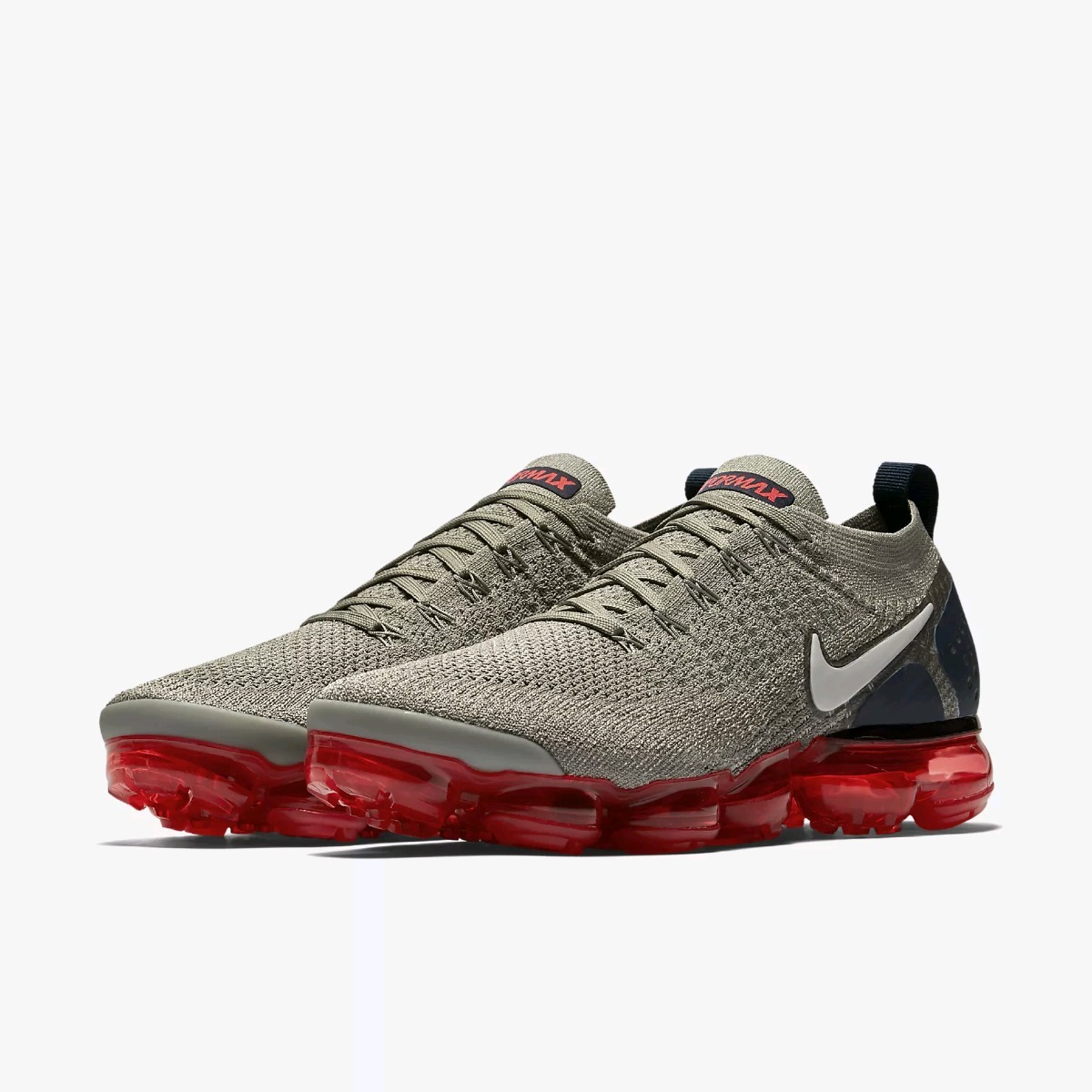 af7fdcdd25a41 ... low cost nike air vapormax flyknit 2 grey red hombre. cargando zoom.  7cb62 c6f01