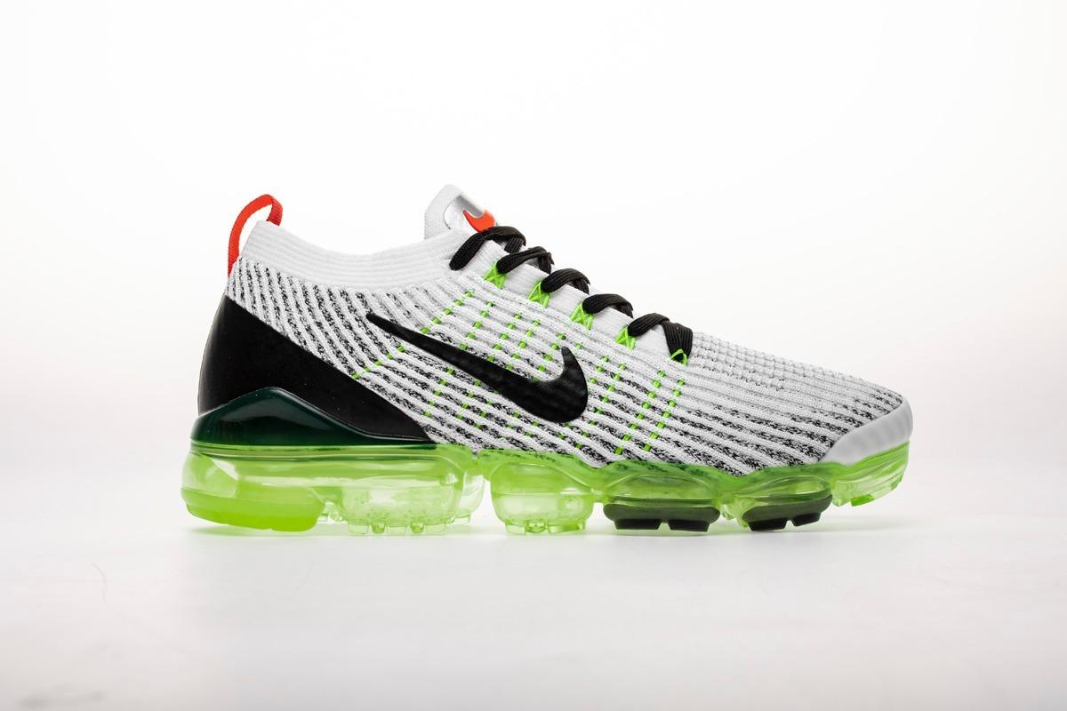 pretty nice ce235 77e57 Nike Air Vapormax Flyknit 3.0 2019 White/grey/green 36/45