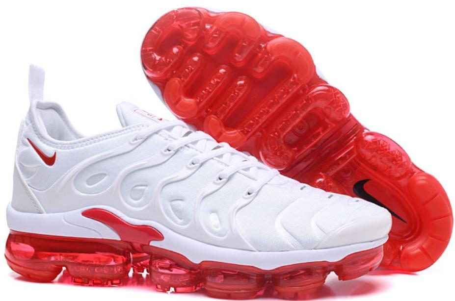 sports shoes 1737f b4b69 ... ireland nike air vapormax plus 2018 blanco y rojo exclusivo 35 45.  cargando zoom.