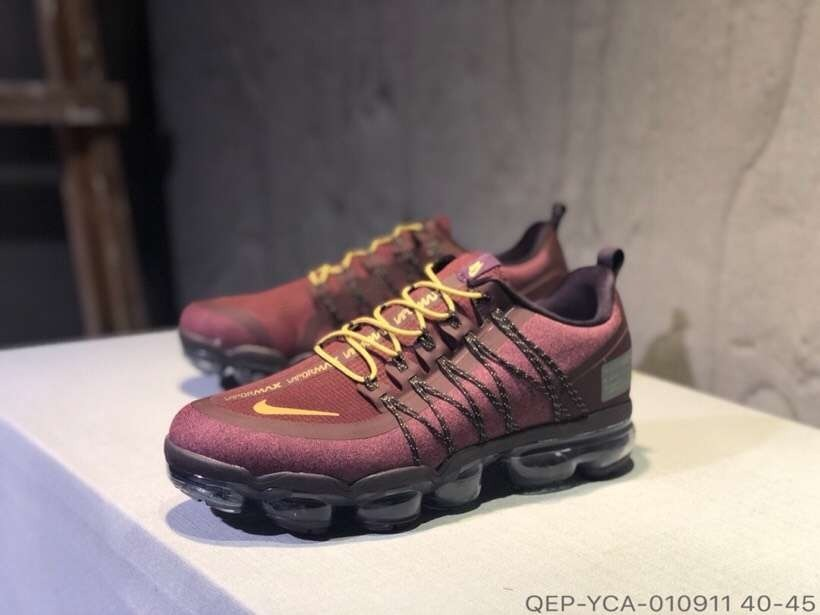 save off ac959 8a46b Nike Air Vapormax Run Utility Red 40/45 Imports Online Line