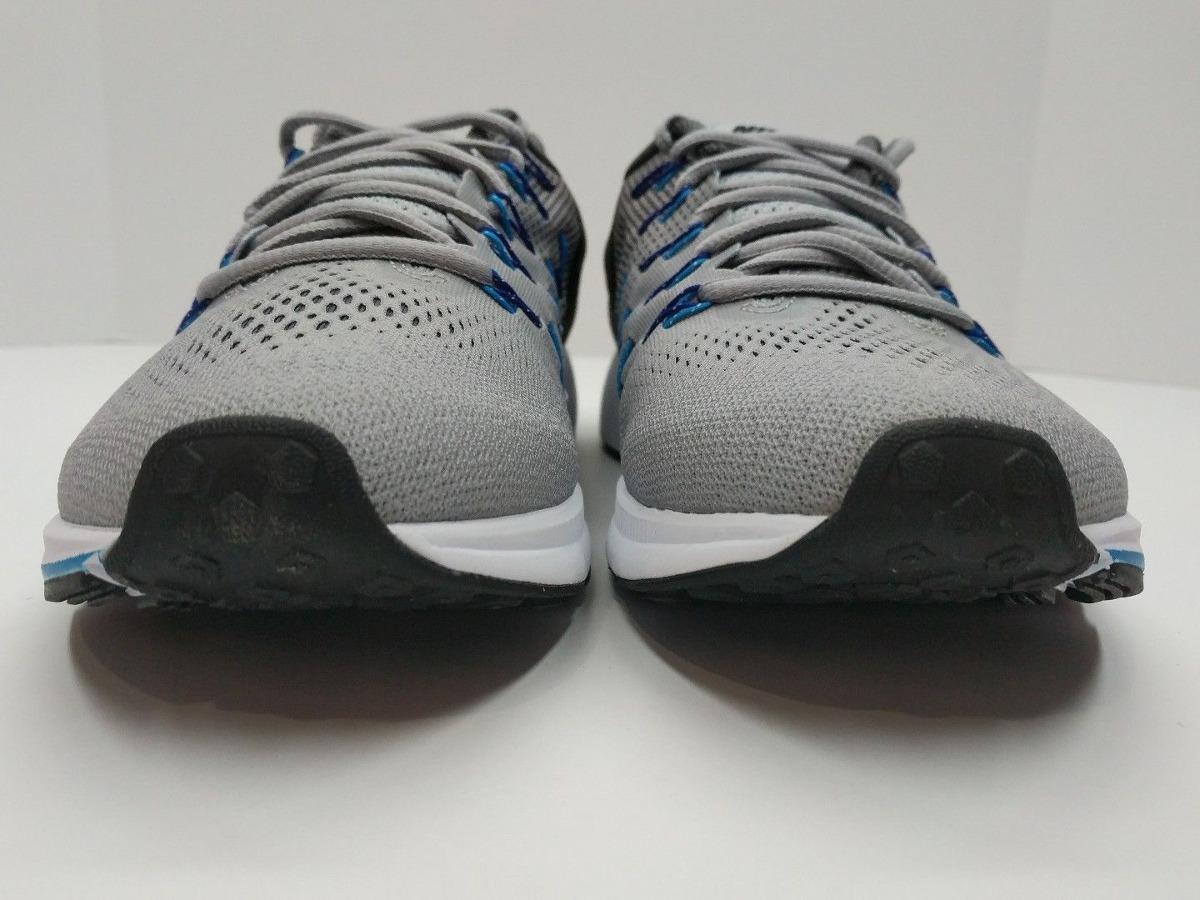 nike air zoom pegasus 33 hombre gris azul blanco running tr. Cargando zoom. fe702f2f10b22