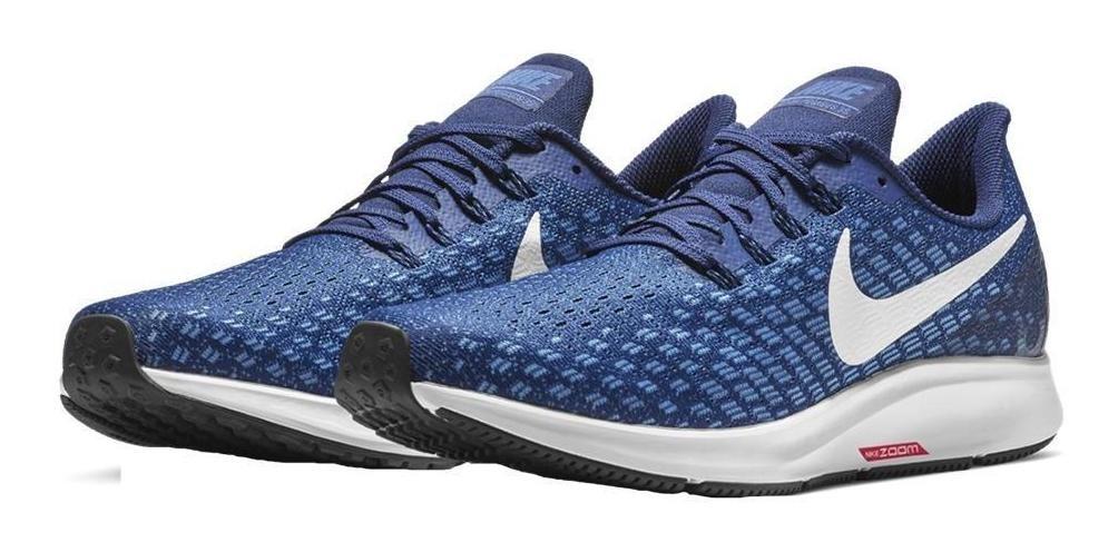 Nike Air Zoom Pegasus 35 Hombre - Azul/blanco