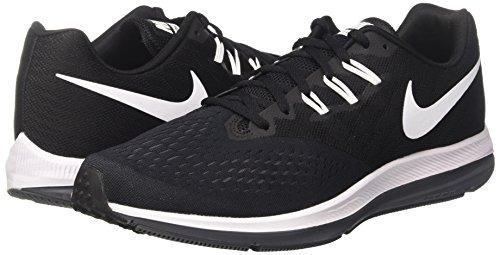 new style b88c6 c3cd4 Nike Air Zoom Winflo 4 Running Shoe Black White Dark Gre