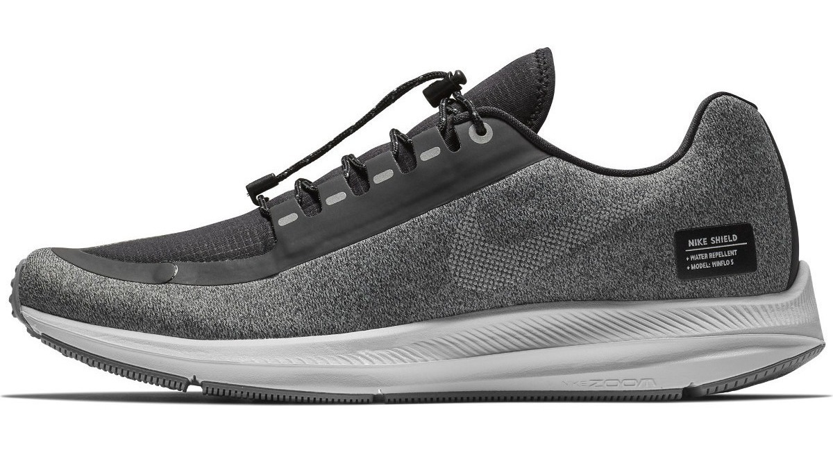online store 26c38 d33e5 Nike Air Zoom Winflo 5 Run Shield Black