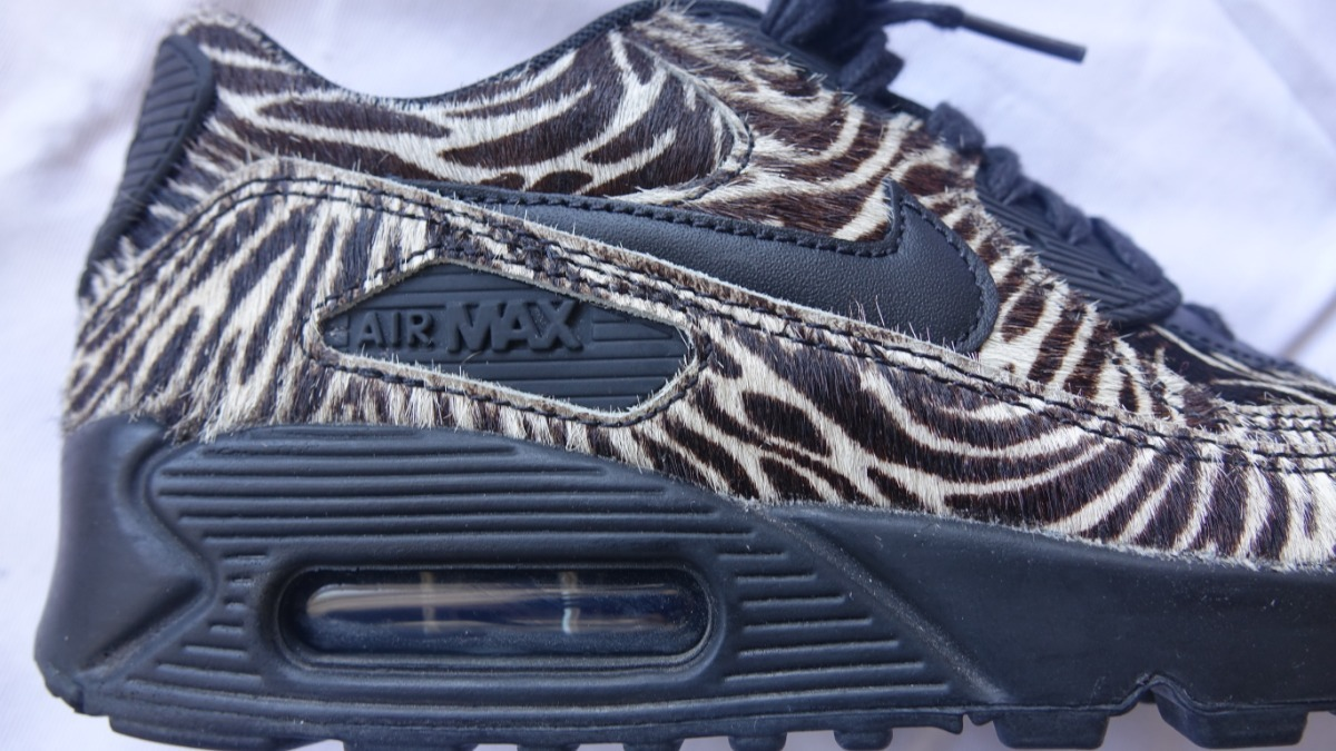 Nike Airmax 90 Animal Print Talle 3623cmus6 Unico Par $ 5.000,00