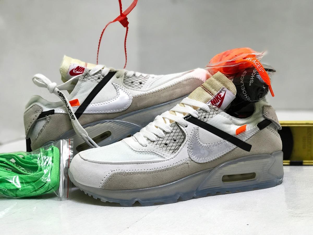 Nike Airmax 90 Off sin White Air Max Hombre sin Off Caja 2 en 8c02f7