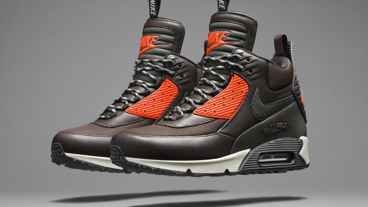 Nike Air Max 90 SneakerBoot Winter Men's Black J8758 : Cheap