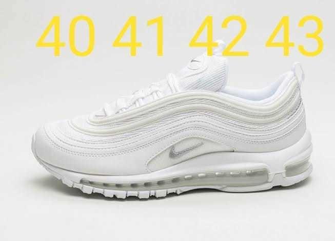 newest 5b4cb c2215 Nike Airmax 97 Nike Lebrón Nike Vapormax Plus All White