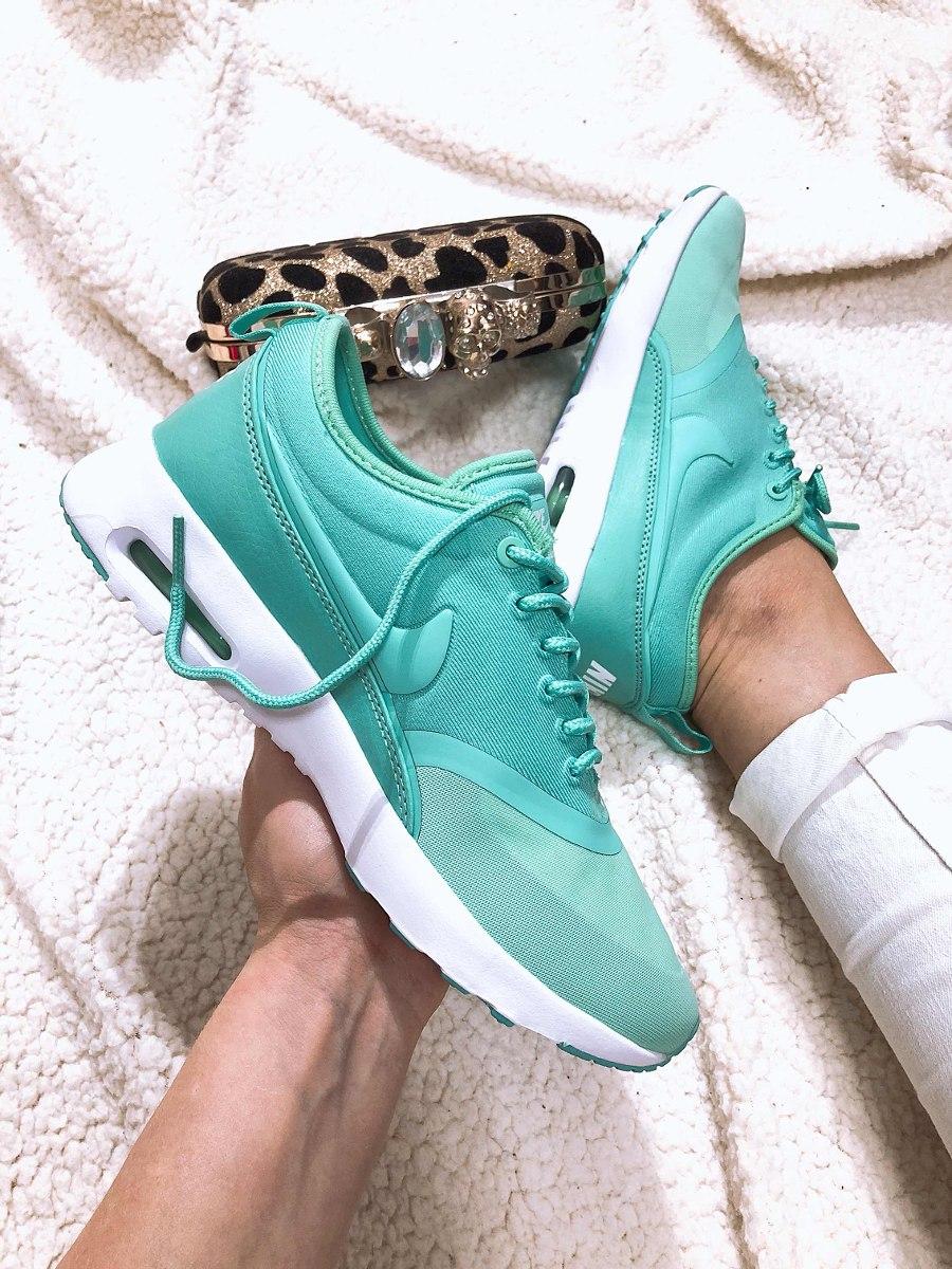 527f5c3d6e86b Nike Air Max Thea turquoise blue nike airmax thea verde agua dama original. Cargando  zoom.