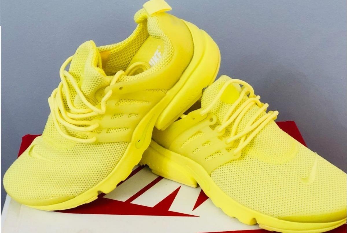 nike air presto mujer amarillas