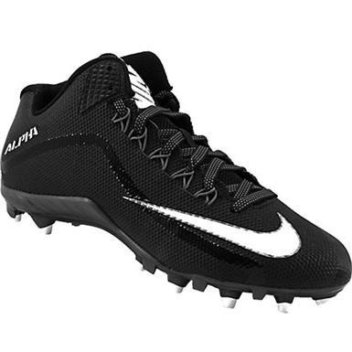 Nike Alpha Pro2 3 4 Tachon Fut Americano Negro 9.5 Mx -   1 3d16cc942cc56