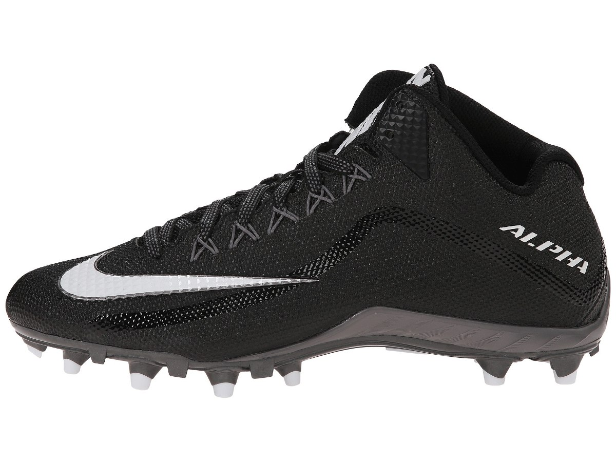 Nike Alpha Pro2 3 4 Tachon Fut Americano Negro 9.5 Mx -   1 095a0146ce6f0