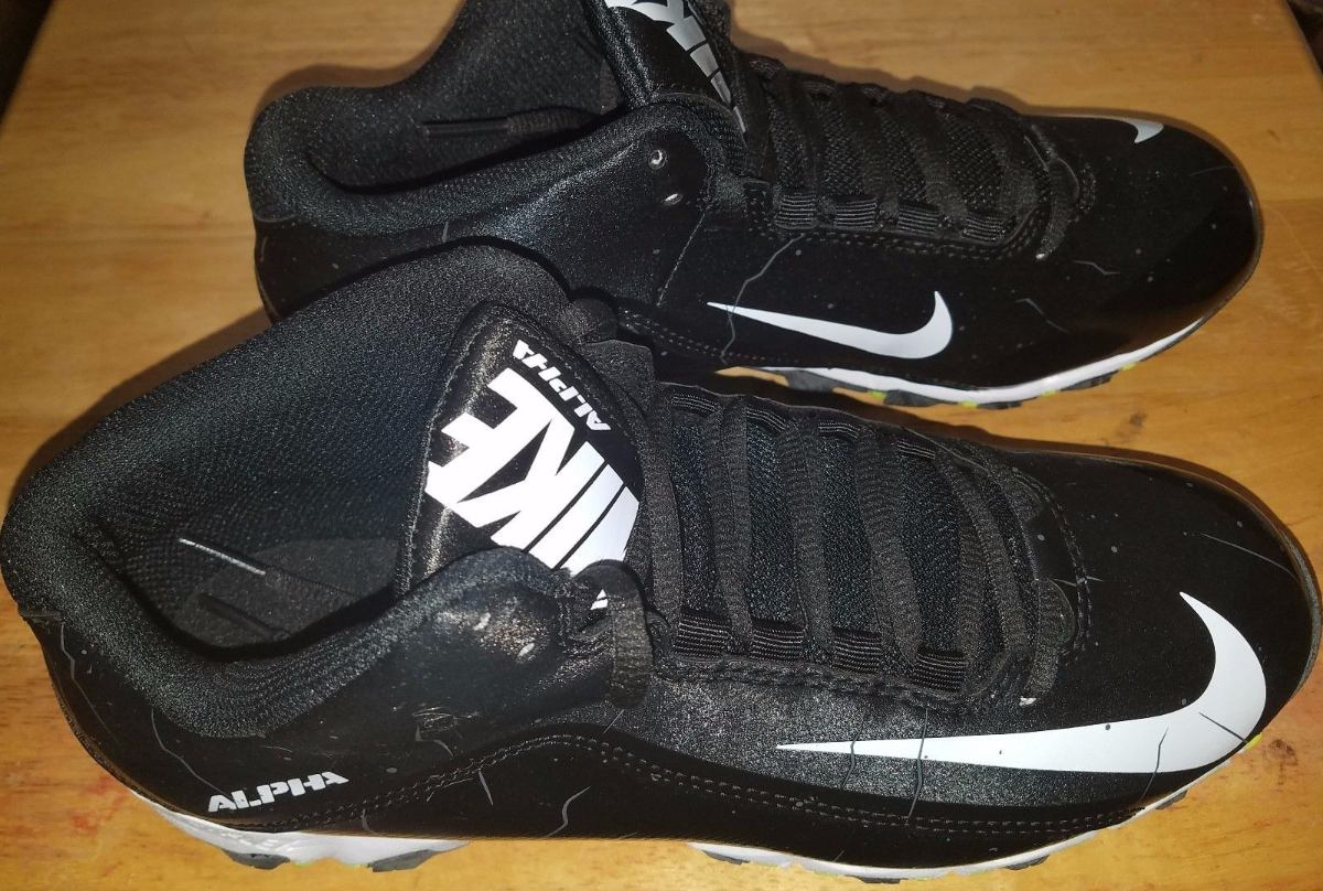 cf0428d61950c nike alpha tacos football americano zapatos tachones negros. Cargando zoom.