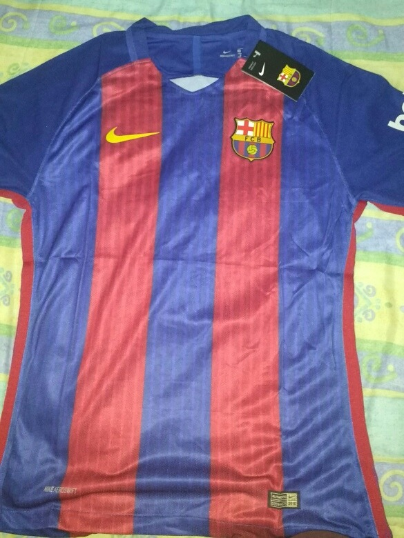 6cc6dca80deb1 Nike Barcelona Home Authentic Playera 2016 2017 Hombre M -   399.00 ...