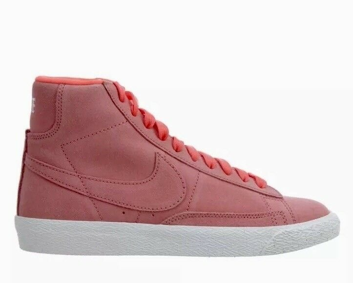 new product 70fb8 5cbef Nike Blazer Mid Hot Punch Tenis Bota Casuales Niña Mx 24 Us6