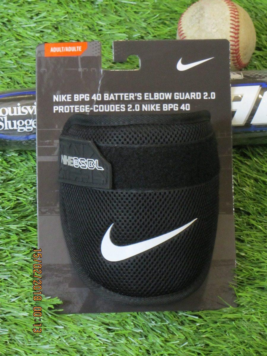 81b825245c3cd Nike Bpg 40 Protector Codo Elbow Guard Adulto Negro - $ 1,290.00 en ...