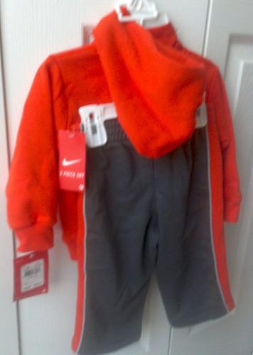 nike buzo 2 piezas pantalon y hoody para babies