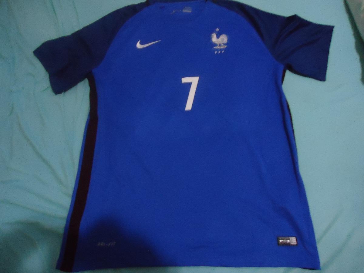 Nike - Camisa Da França - Tam Xxl - Usada - Original - R  109 192441eff3688
