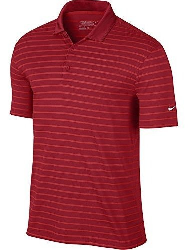 nike camisa tipo polo para golf a rayas para hombre