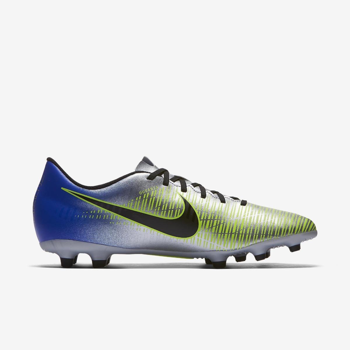 Chuteira Nike Mercurial Vortex Njr Iii Fg - Campo - Original - R ... 747cdf71cb3eb