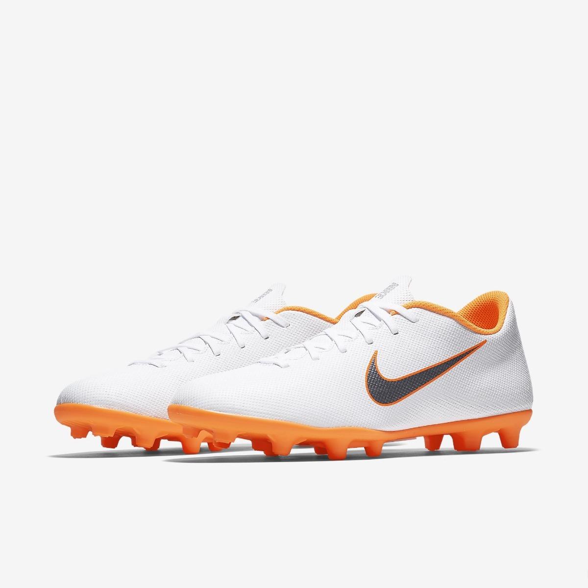 Chuteira Nike Mercurial Vapor 12 Club Fg Mg Campo - Original - R ... 16351eb00ea88
