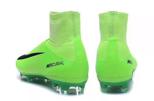 1c94c74936b8a Chuteira Nike Mercurial Superfly V Cr7 Fg Botinha Campo  104 - R ...