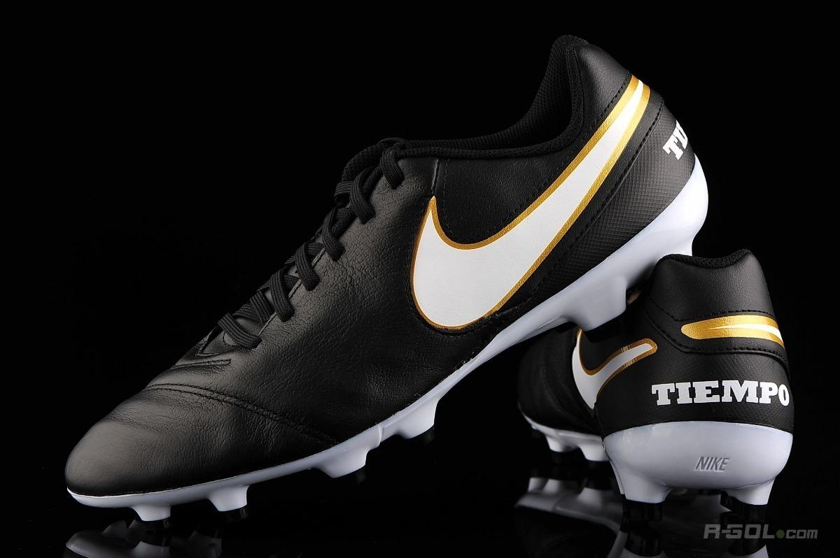 Chuteira Nike Tiempo Genio 2 Ii Leather Fg - Couro - Campo - R  244 ... 6c5b59e7c17f2