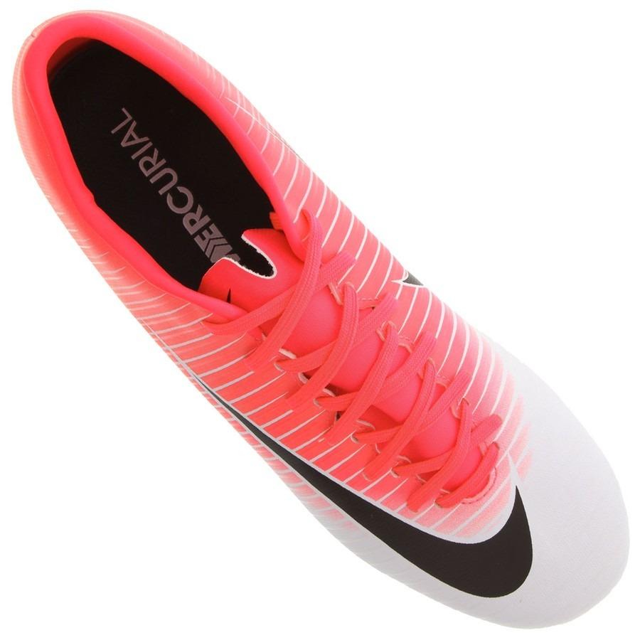 Chuteira Nike Mercurial Victory 6 Fg Campo Original Nf - R  319 7600d6dca3a98