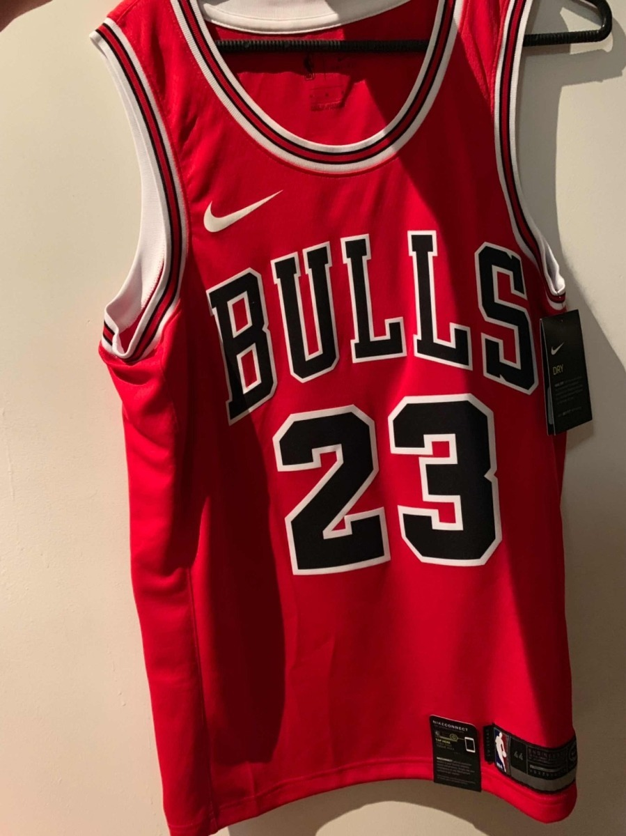 new product 675f7 321be Nike Chicago Bulls Jordan Icon Swingman Jersey Talla M