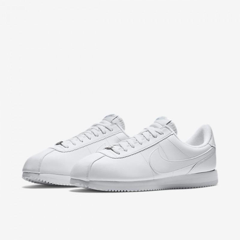 Nike 110 Cortez Basic Leather 819719 110 Nike Blanco 1 en Mercado 750a94