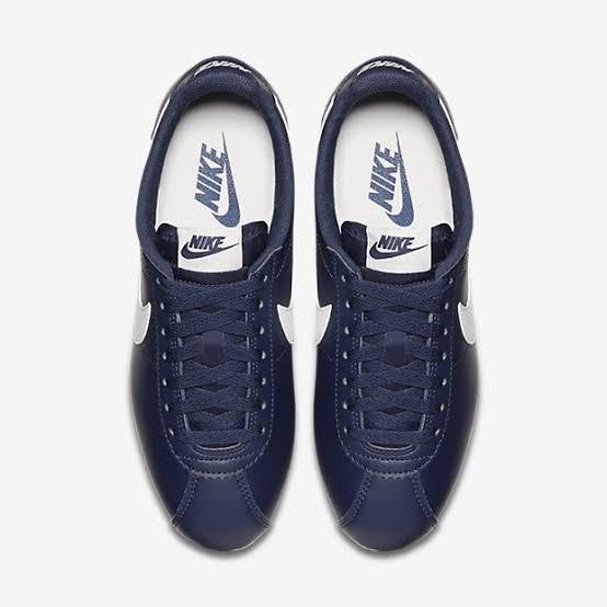 40243f59678f0 Nike Cortez Leather 28.5 Hombre Caballero Piel Azul Marino ...