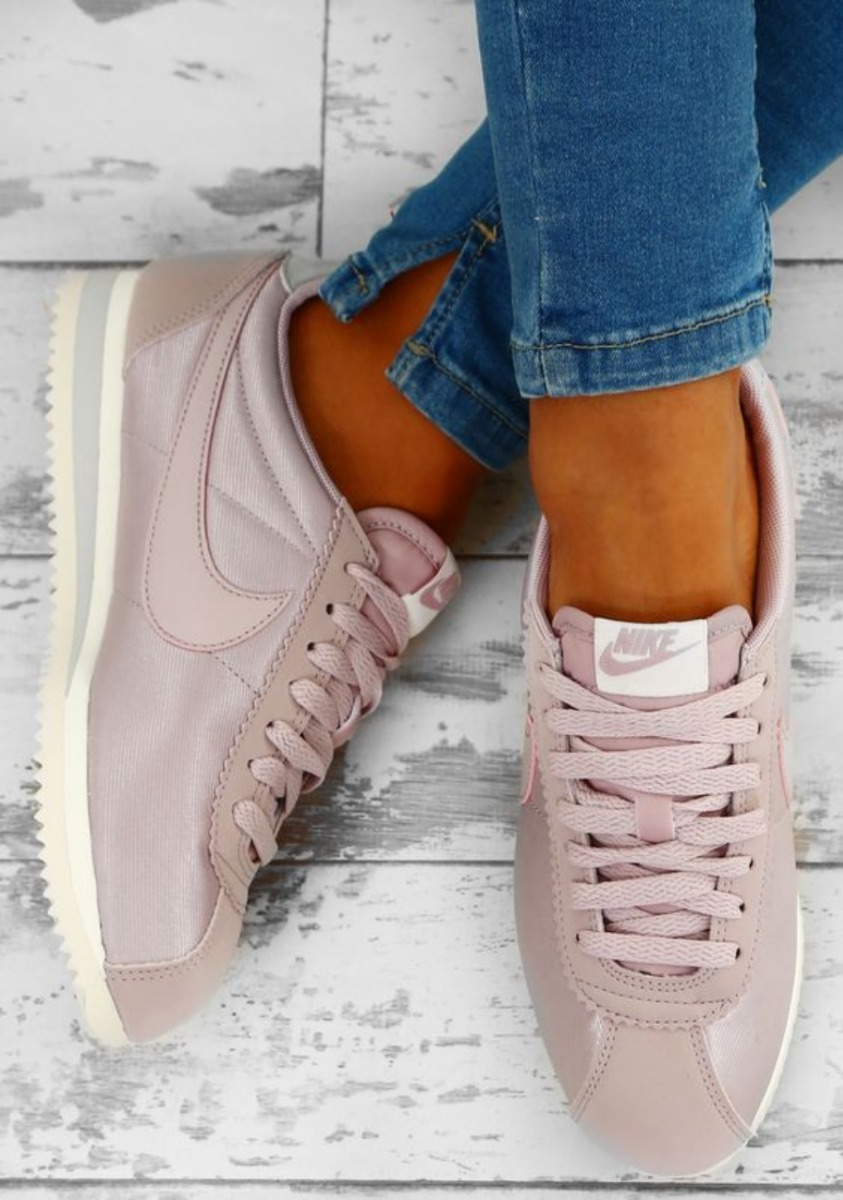 d93a01b72167 nike cortez nylon particle rose vast grey - consulte stock!! Cargando zoom.