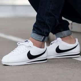 Nike Cortez Originales Cuero Clasicas Blancas Negras