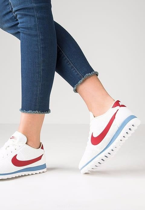 calzado bueno venta barata ee. Nike Cortez Ultra Blanca Para Mujer-- Solo En Kiero1