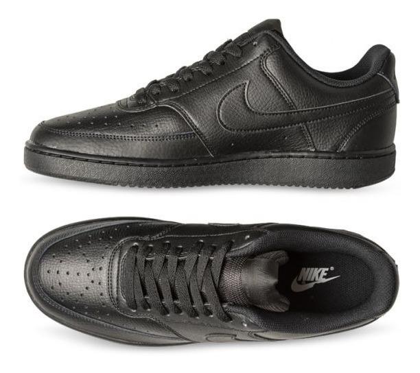 Nike Court Vision Low M Cd5463-002 Caballero Negro