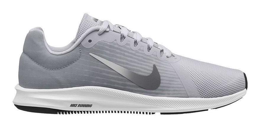 Cuadrante Eficacia detalles  Nike Downshifter 8 Mujer - Gris/blanco - $ 218.625 en Mercado Libre