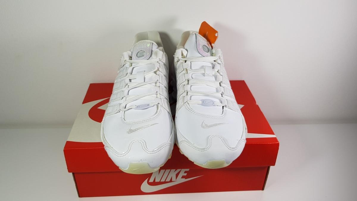 c1c496bc628 Carregando zoom... 2 tênis nike shox nz feminino branco 636088-115 original