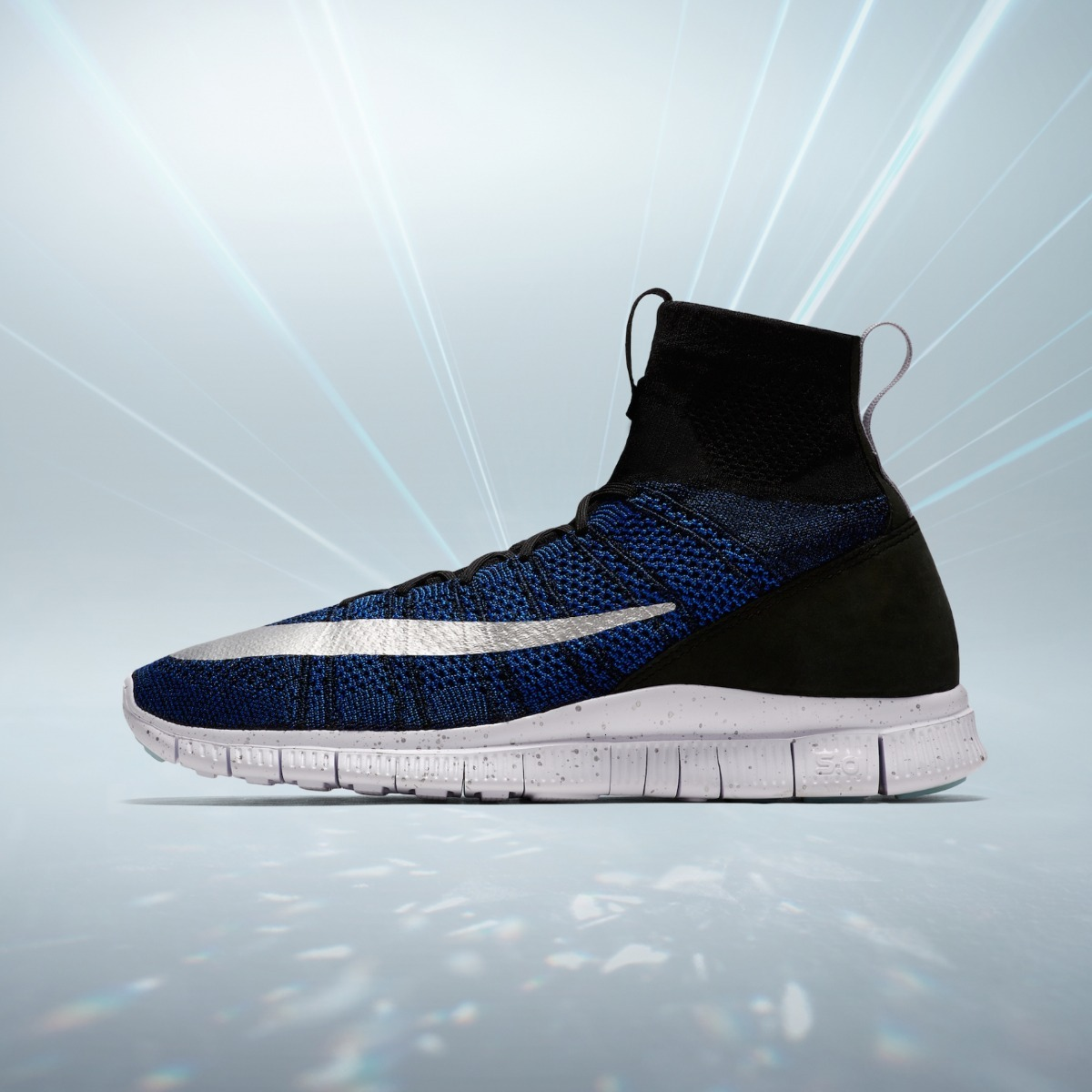 low priced 15eb5 5d3c3 nike free flyknit mercurial fc cr7 superfly racer blue. Cargando zoom.