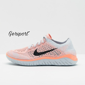 Nike Free Rn Flyknit 2018 Mujer. Us78. 942839 800.