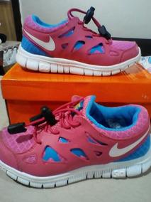 De Run Niña Zapatos Free Goma Deportivos Nike Infantil shrQdtC