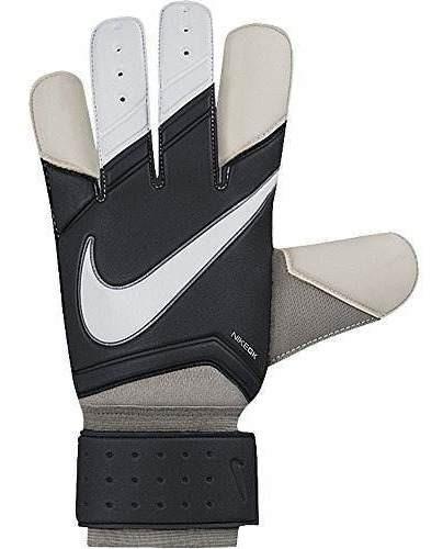 nike grip 3 goleador guantes de futbol negro / blanco