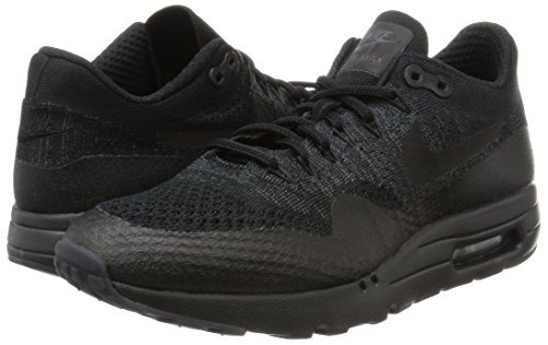 low priced f72a0 8ff4d Nike Hombre Air Max 1 Ultra Flyknit Triple Negro Negro Ant