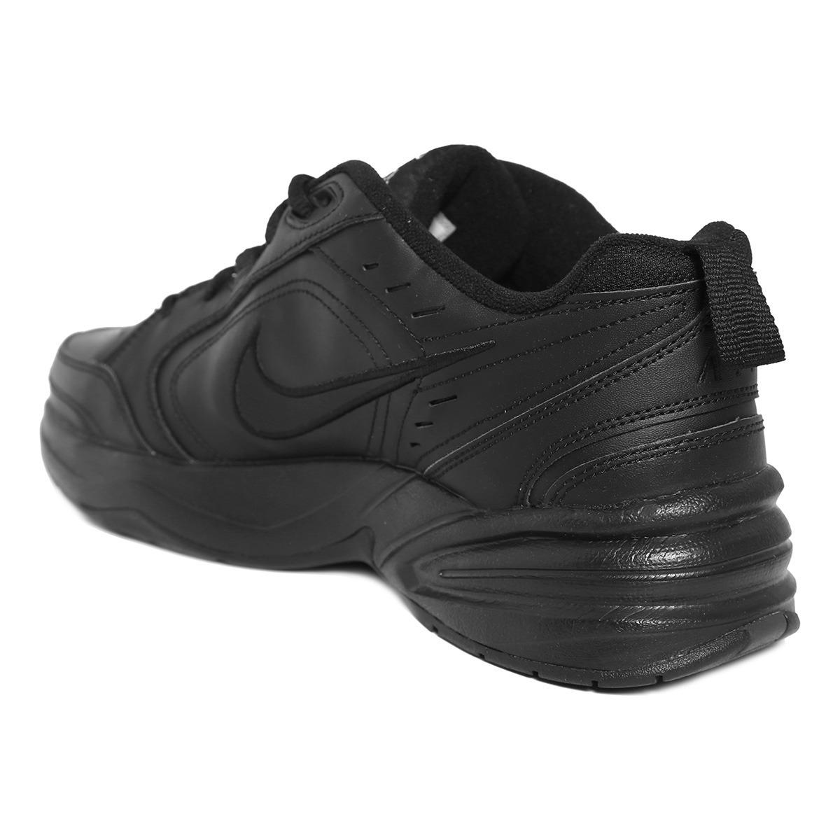 bb6b8b28fcbe4 Tenis Nike Air Monarch Iv Para Hombre Color Negro 2578804 ...